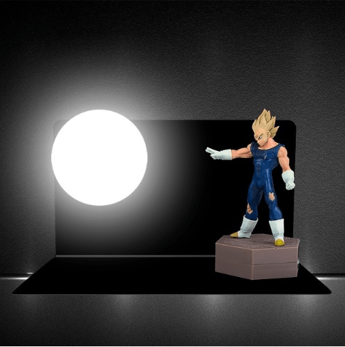 Super Saiyan Anime Vegeta Night Lights