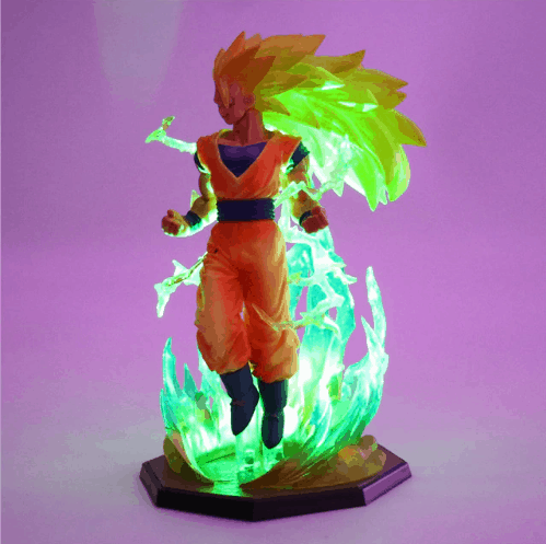 Dragon Ball Super Saiyan 4 Lampara Room lighting