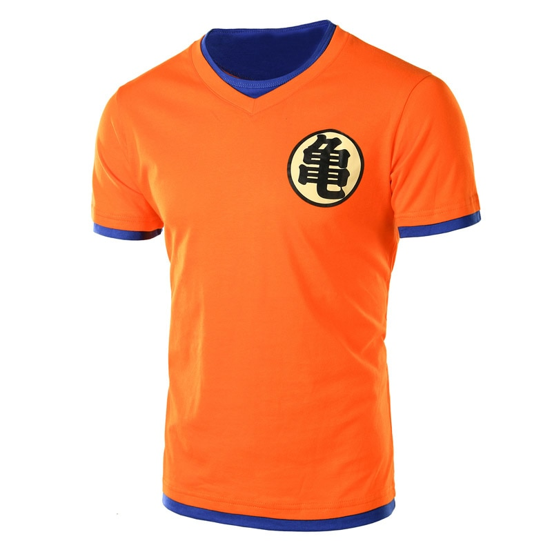 Orange Dragon Ball Z Symbol Style T-shirts