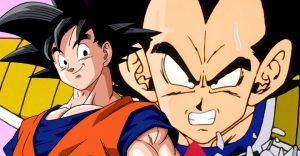Goku And Vegeta In Dragon Ball