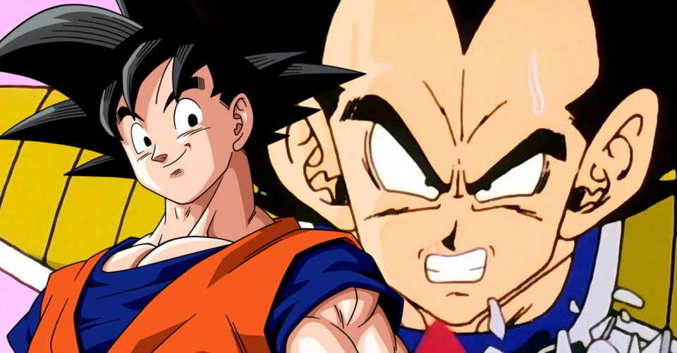 Goku And Vegeta In Dragon Ball