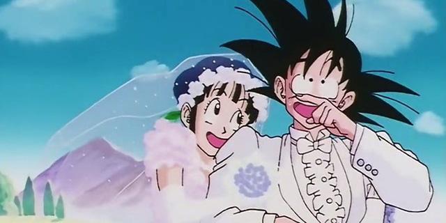 Image result for Goku và Chichi