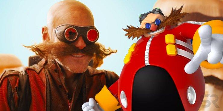 Jim Carrey As Dr Robotnik In Sonic The Hedgehog