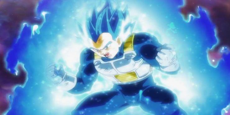 Dragon Ball Vegeta Super Saiyan Blue Advanced First Time