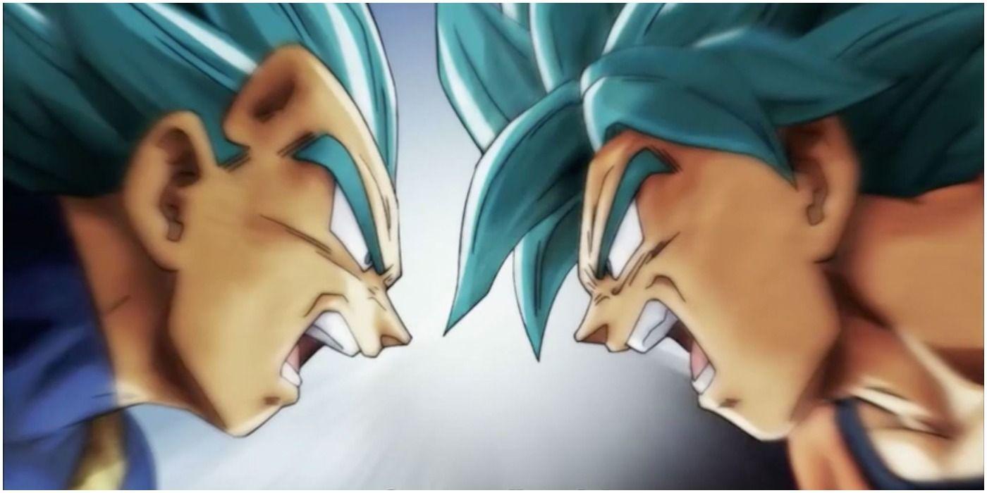 Dragon Ball Super Dbs Goku Vegeta Super Saiyan Blue