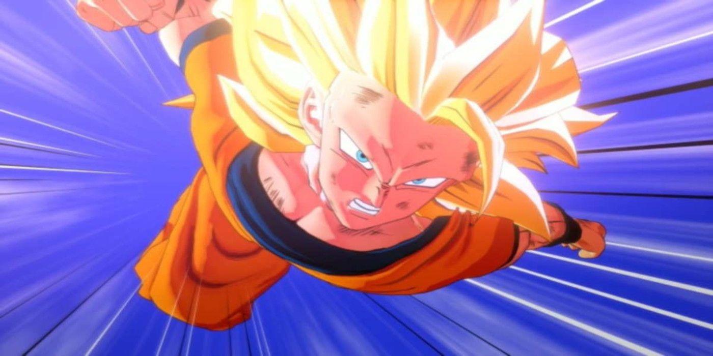Dragon Ball Z Kakarot Super Saiyan 3 Goku