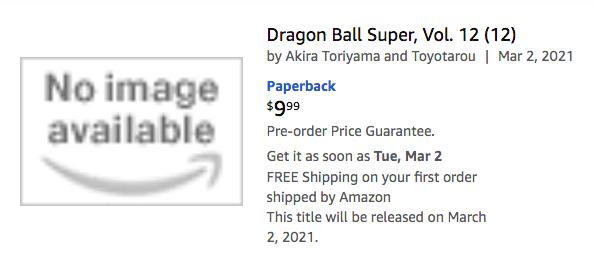 Viz Dbs Manga Vol 12 Amazon