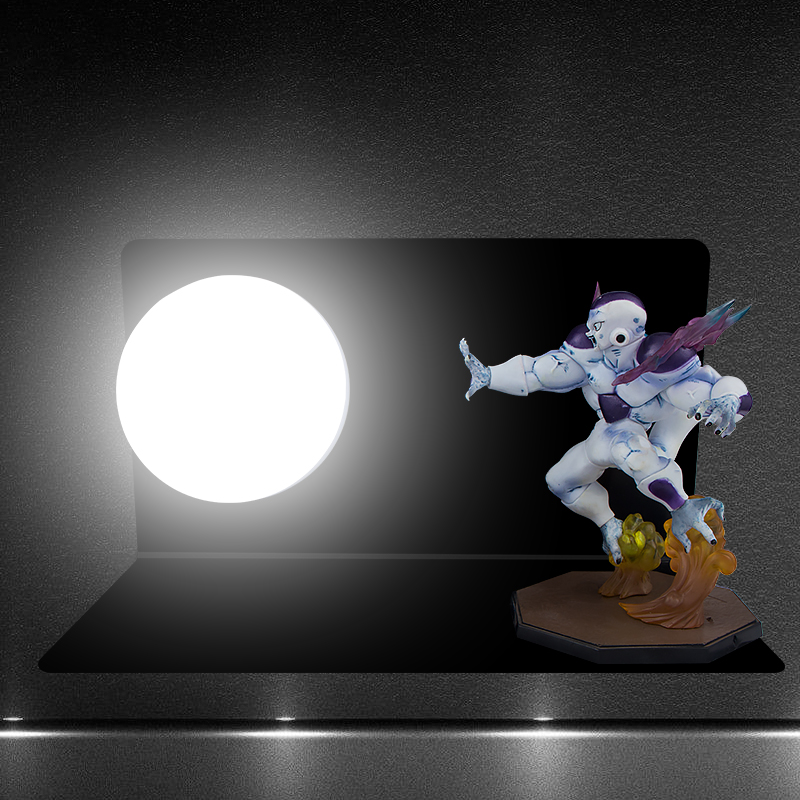 DBZ Ultimate Frieza Strength Bombs DIY 3D Light Lamp