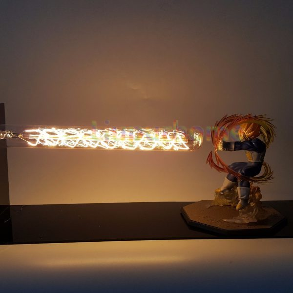 DBZ Vegeta Super Saiyan DIY 3D Light Lamp - DBZ Shop