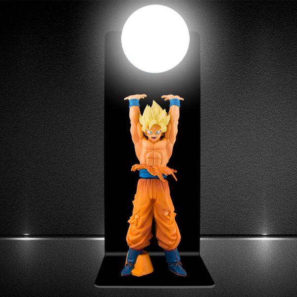 DRAGON BALL Z Son Goku Genki Dama Spirit Bomb DIY 3D Light Lamp