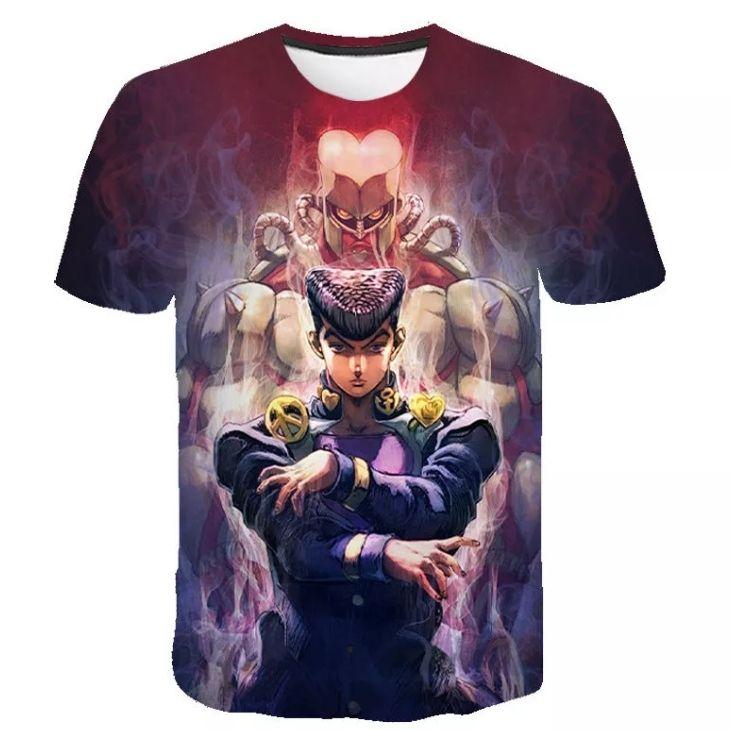 JJBA custom tshirt - DBZ Shop