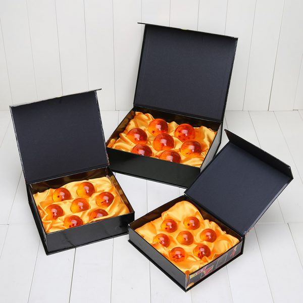 7pcs set Dragon Ball Super big 3 5cm 4cm 5 7cm 7 Stars Crystal Ball PVC - DBZ Shop