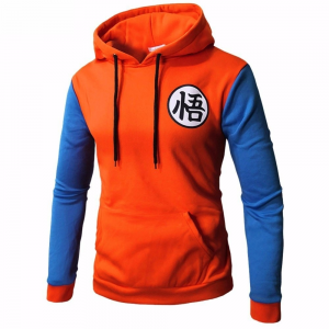 Dragon Ball Z Goku Symbol Cool Hoodie 1 - DBZ Shop