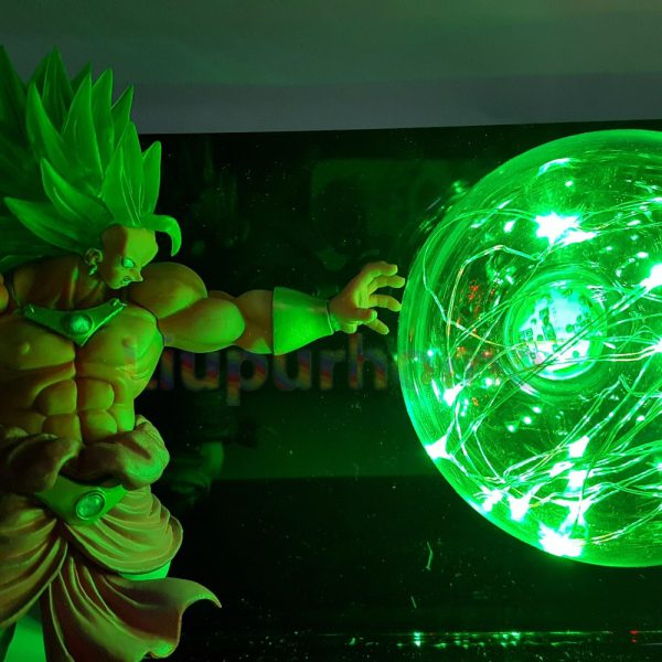 Dragon Ball Z Son Goku VS Broly Led Scene Anime Dragon Ball Super Table Lamp Toy 1 - DBZ Shop