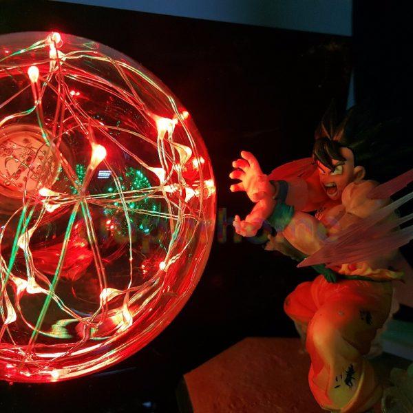 Dragon Ball Z Son Goku VS Broly Led Scene Anime Dragon Ball Super Table Lamp Toy - DBZ Shop