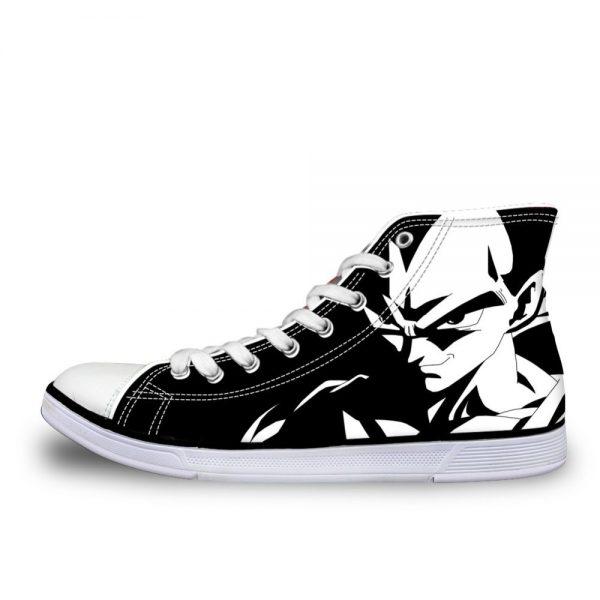 FORUDESIGNS 2019 Dragon Ball Z Super Vulcanized Men s Shoes High Top Vegeta Comfortable Casual Sports 1 - DBZ Shop