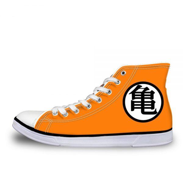 FORUDESIGNS 2019 New Style Dragon Ball Z Print Mens High top Vulcanized Shoes Cool Super Saiyan - DBZ Shop