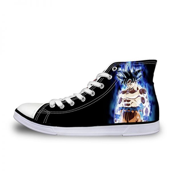 FORUDESIGNS Anime Dragon Ball Z Print High Top Men Vulcanized Shoes Cool Super Saiyan Son Goku - DBZ Shop