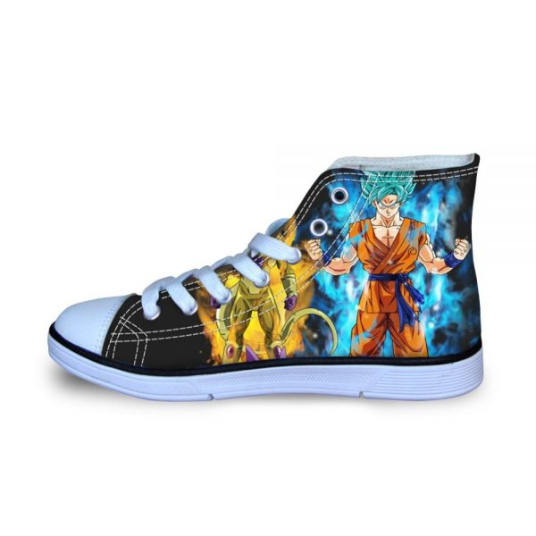 FORUDESIGNS Dragon Ball Z Anime Printing Cartoon Children Shoes Sneakers for Boys Kids Football Boots Sport - DBZ Shop