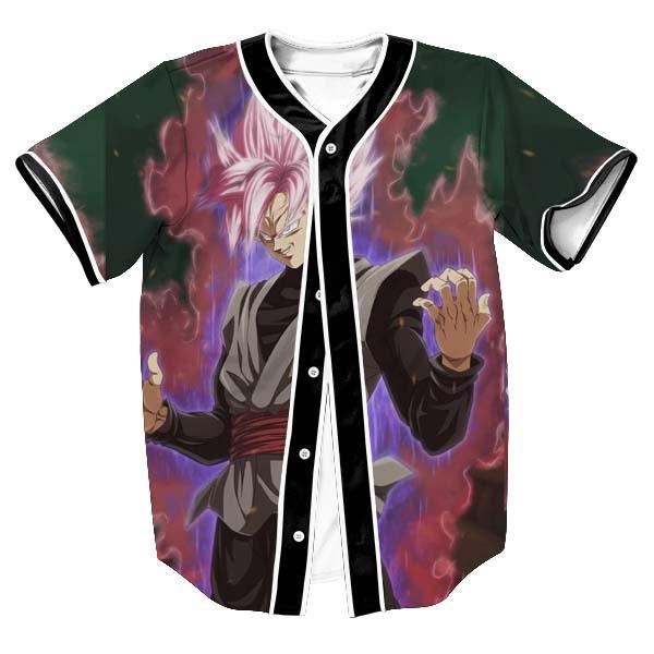 God Goku Super Dragon Ball Baseball Jersey - DBZ Shop