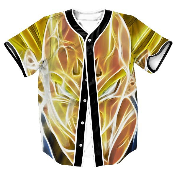 Legendary DBZ Fashion Baseball Jersey - DBZ Shop