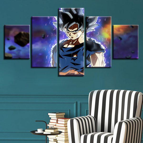 Legendary Son Goku DBZ Wall Art - DBZ Shop