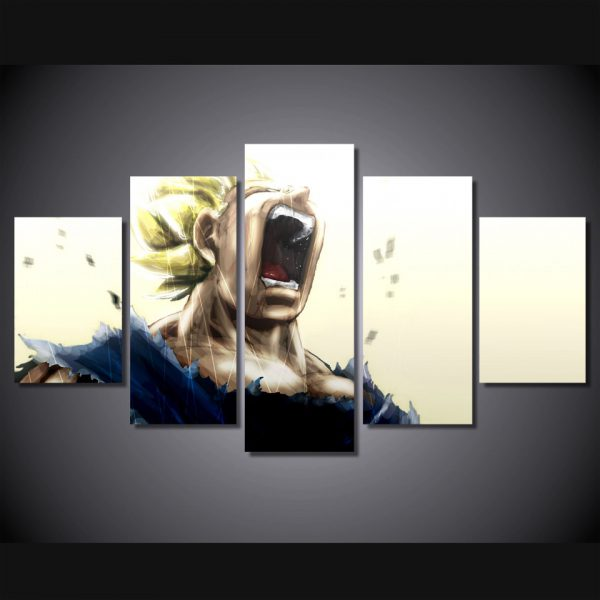 Roar Goku Super Dragon Ball 2018 Canvas Wall Art - DBZ Shop