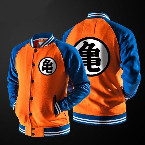 ZOGAA Anime Goku Varsity o Kho c Thu ng C o N Hoodie Ph i N - DBZ Shop