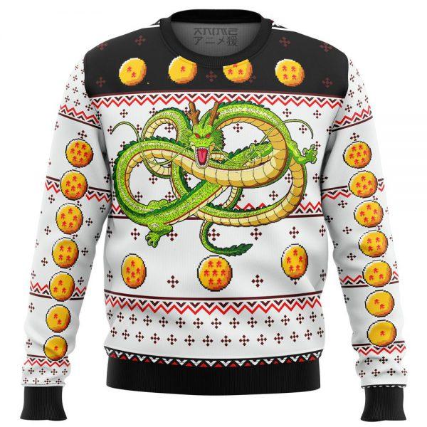 dragon ball z shenron premium ugly christmas sweater 468224 - DBZ Shop