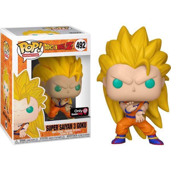 Super Saiyan 3 Goku #492 Funko Pop