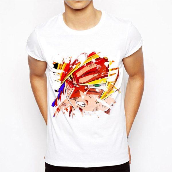 Dragon Ball T Shirt Men Summer Dragon Ball Z super son goku Slim Fit Cosplay 3D 19 - DBZ Shop