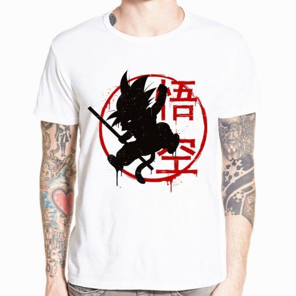 Dragon Ball Z Goku T shirt Short sleeve O Neck Tshirt Summer Saiyan Vegeta Harajuku brand 11 - DBZ Shop