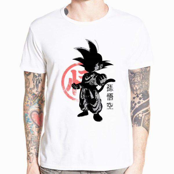 Dragon Ball Z Goku T shirt Short sleeve O Neck Tshirt Summer Saiyan Vegeta Harajuku brand 4 - DBZ Shop