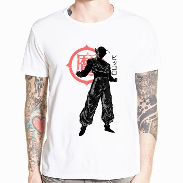 Dragon Ball Z Goku T shirt Short sleeve O Neck Tshirt Summer Saiyan Vegeta Harajuku brand 5 - DBZ Shop