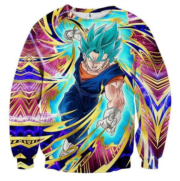 Dragon Ball Super Vegito Ultra Instinct Cool Colorful Sweater  1 - DBZ Shop