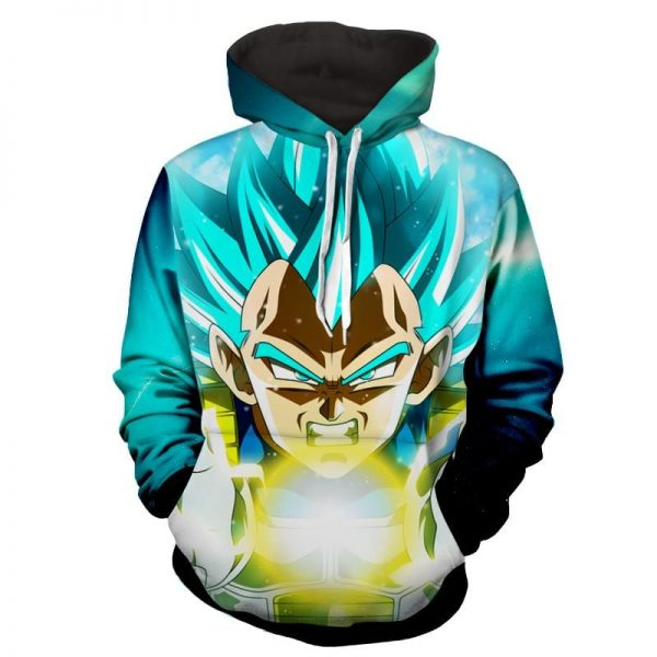 Dragon Ball Z The Breathtaking Super Saiyan Vegeta Hoodie 2 - DBZ Shop