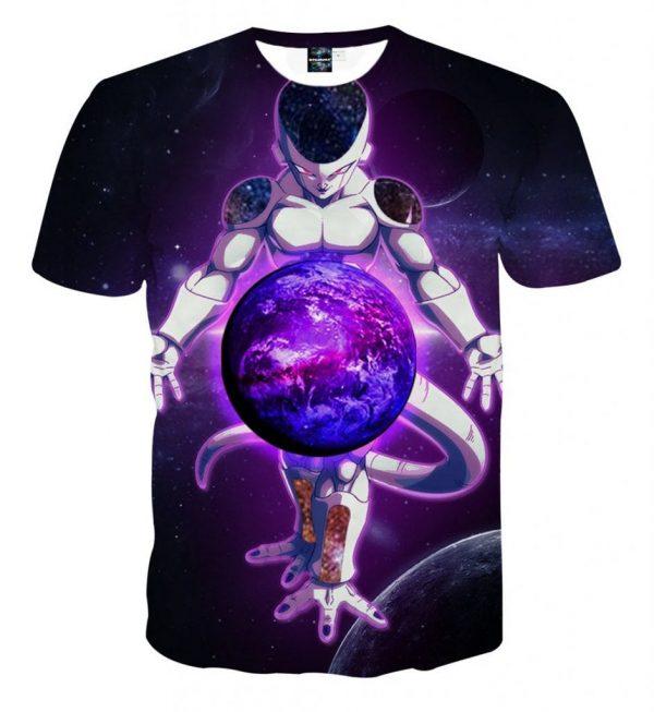Dragon Ball Z The Merciless Lord Frieza Black TShirt 1 scaled 1 - DBZ Shop