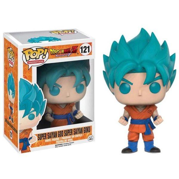 121 Super Saiyan God Goku Funko Pop