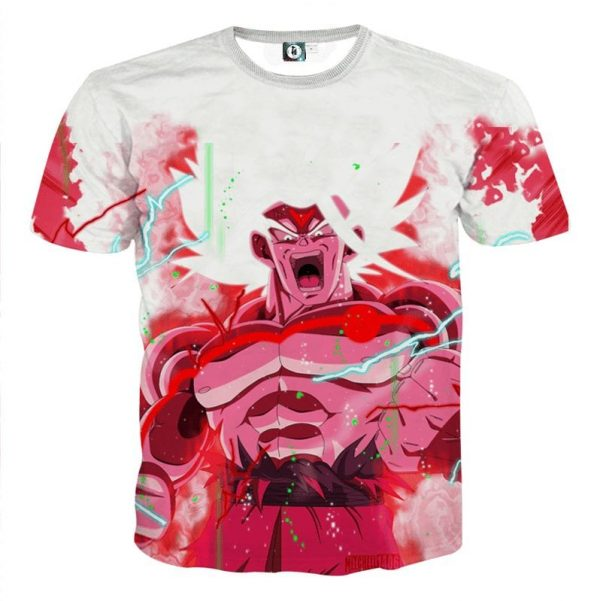 Goku Super Saiyan White Omni God Transformation TShirt 1 1 - DBZ Shop