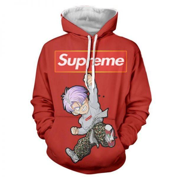 Supreme Kid Trunks Jumping Red Trendy Fashion Hoodie 1 - DBZ Shop