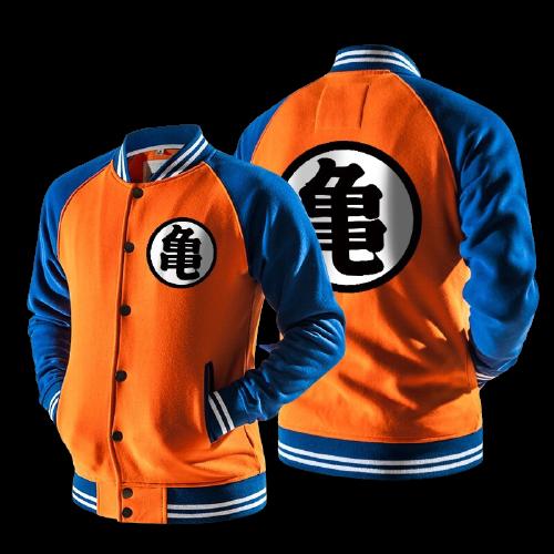 ZOGAA Anime Goku Varsity o Kho c Thu ng C o N Hoodie Ph i N removebg preview - DBZ Shop