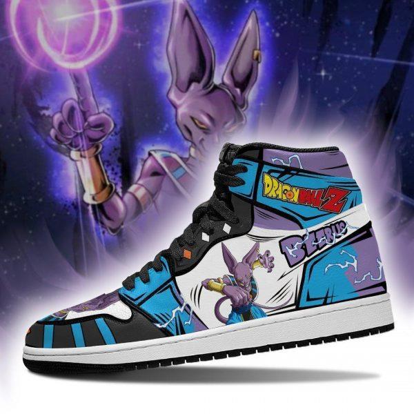 beerus dragon ball super anime jordan sneakers fan gift mn04 gearanime - DBZ Shop