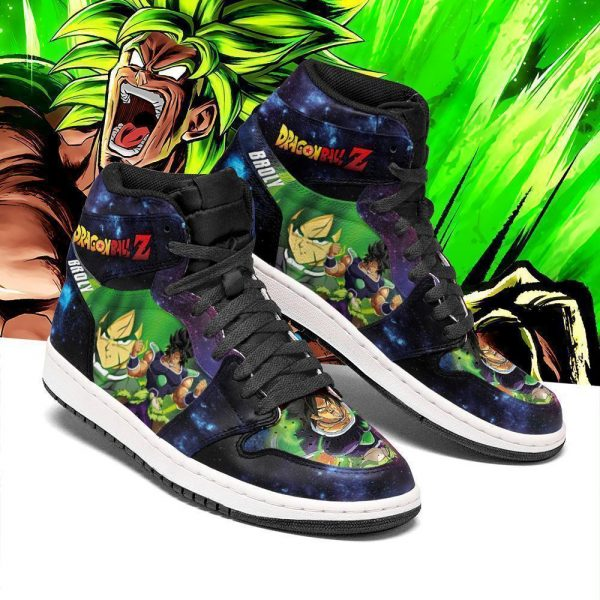 broly dragon ball super anime jordan sneakers pt04 gearanime - DBZ Shop