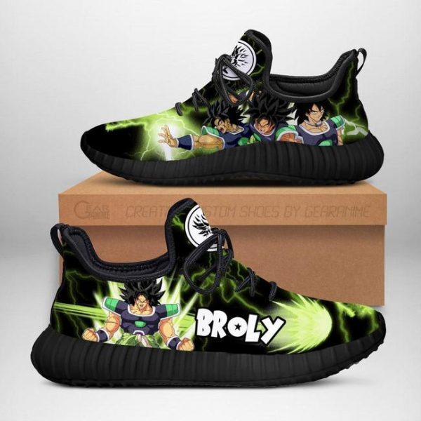 broly reze shoes dragon ball anime shoes fan gift tt04 - DBZ Shop