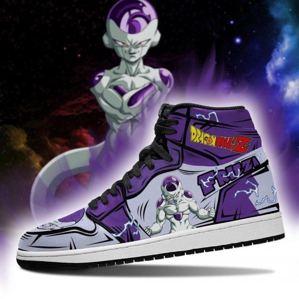 frieza classic shoes boots dragon ball z anime jordan sneakers fan gift mn04 gearanime - DBZ Shop