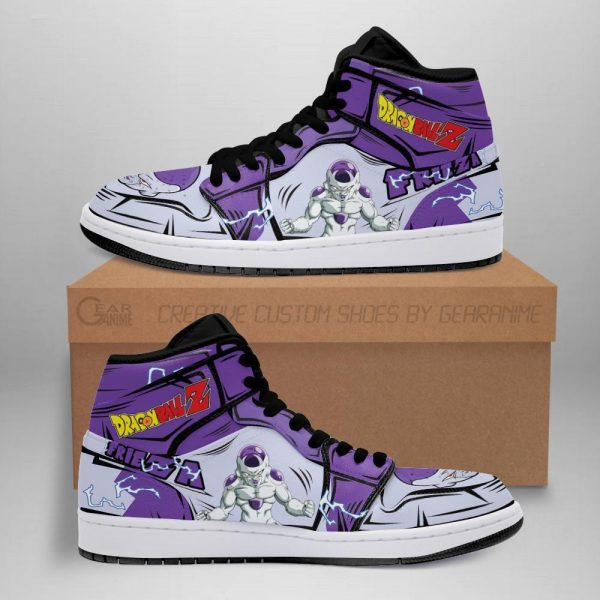 frieza classic shoes boots dragon ball z anime jordan sneakers fan gift mn04 - DBZ Shop