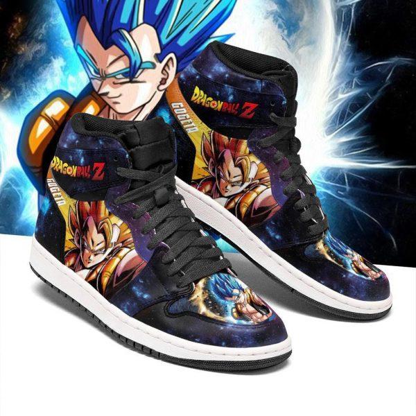 gogeta jordan sneakers galaxy dragon ball z anime shoes fan pt04 gearanime - DBZ Shop