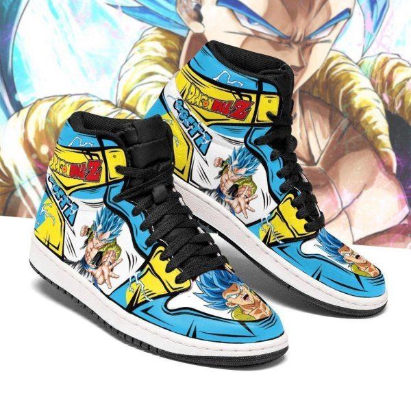 gogeta shoes boots dragon ball z anime jordan sneakers fan gift mn04 gearanime - DBZ Shop