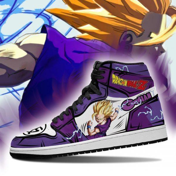 gohan shoes boots dragon ball z anime jordan sneakers fan gift mn04 gearanime - DBZ Shop