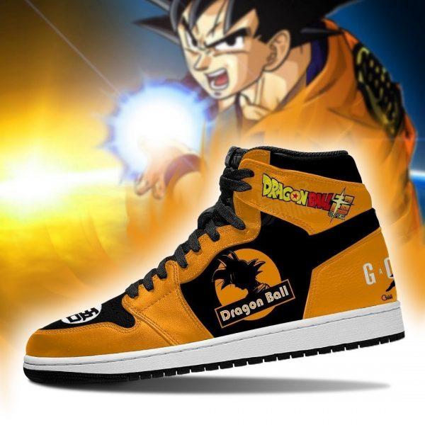 goku air jordan sneakers dragon ball super anime custom shoes gearanime - DBZ Shop